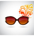 Realistic trendy woman sunglasses vector image