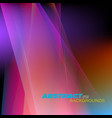abstract colorful translucent vector image vector image