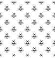 knife pattern seamless vector image