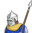 knight 4 vector image vector image