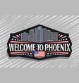 logo for phoenix vector image vector image
