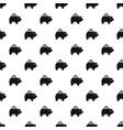 pig money box pattern vector image vector image
