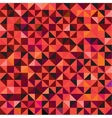 Seamless triangle pattern background vector image