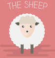 Sheep mascot vector image vector image