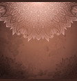 vintage background with lace ornament vector image vector image