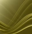 Yellow and black waves modern futuristic abstract vector image vector image
