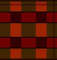 seamless pattern scotch fabric vector image