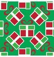 colorful Christmas gift boxes Holiday seamless vector image