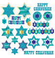chanukah clipart vector image vector image