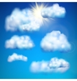 Clouds in the sky EPS 10 vector image vector image