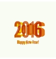 creative happy new year vector image vector image