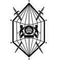 crown the empire vector image