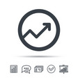 graph icon business analytics chart sign