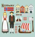 Norway icon set