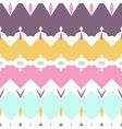 Seamless geometric pattern textiles design pastel vector image vector image