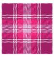 Violet Tartan Plaid Pattern Design vector image vector image