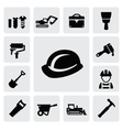 construction icon vector image