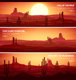 desert trip extreme tourism and travelling back vector image vector image