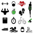 fitness resize vector image vector image