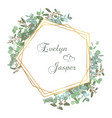 greeting festive flyer holiday card elegant vector image vector image