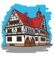 house Germany vector image vector image
