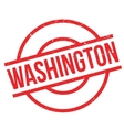 Washington rubber stamp vector image vector image