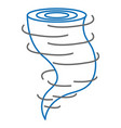 air twister isolated icon vector image