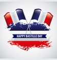 bastille day french celebration vector image