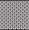 black and white monochrome geometric pattern vector image vector image