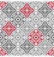 floral carpet pattern vector image vector image