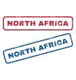 North Africa Rubber Stamps vector image vector image