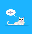 picture cute cat vector image