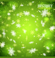 abstract bright winter template vector image