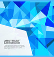 abstract geometric background high technology vector image vector image