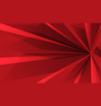 abstract red speed background vector image vector image