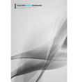 Business Abstract Background for Brochure Covers vector image