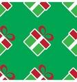 colorful Christmas gift boxes Holiday seamless vector image vector image
