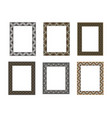 decorative frame elegant element for design vector image vector image