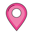 gps location pin vector image