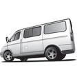 minibus vector image vector image