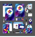 Professional corporate identity kit business vector image vector image