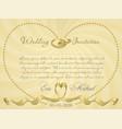 ribbon wedding r2 vector image