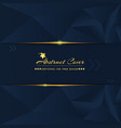 abstract and solid dark cover design template with vector image vector image