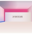 Abstract interior creative background vector image