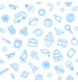 back to school seamless pattern from education vector image vector image