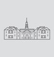 Delaware vector image vector image