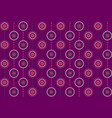 seamless repeating background of multicolored vector image vector image