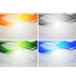 vibrant backdrops vector image vector image