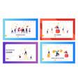 winner business achievement concept landing page vector image
