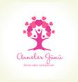 anneler gunu mothers day tree love vector image